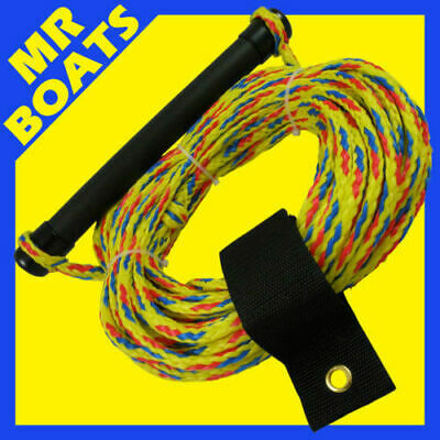 WATER SKI WAKEBOARD Rope 75ft Comfortable Handle ✱ BRAND NEW ✱ Wake Board