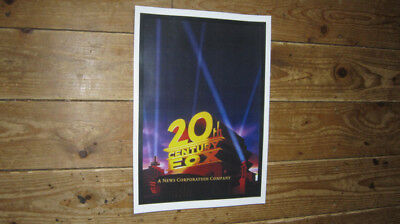 20th Century Fox Promotional New POSTER