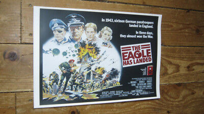 The Eagle Has Landed Donald Sutherland Repro POSTER