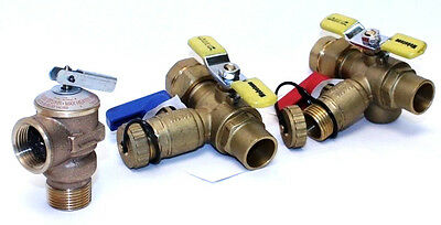 Valve Kit for BOSCH  Tankless Heaters w Pressure Relief