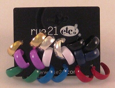 12 Sets Of 9 Pair Earrings (108 Pairs) By Rue21  #e1007