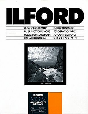Ilford MG IV RC 8x10 Paper (100 Sheets) Satin