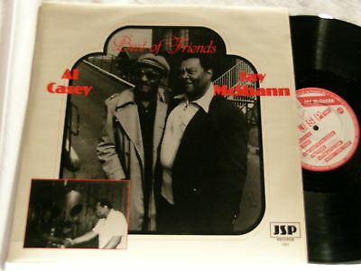 AL CASEY & JAY McSHANN Best of Friends JSP UK LP