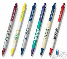 500 Custom Printed Bic Clic Stic Promotional Pens Logo