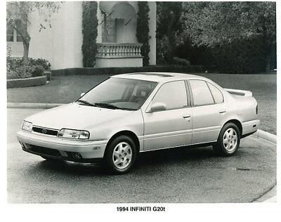 1993 1994 Infiniti G20 Press Photo Print and Release