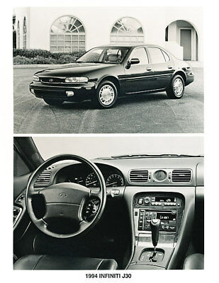 1994 Infiniti J30 Press Photo Print and Release