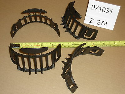 400 Large Cap Clips by Cool Hat - Black - New - z274