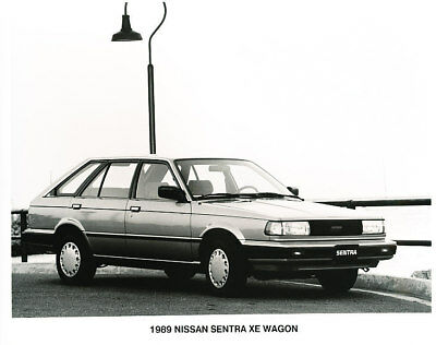 1989 Nissan Sentra Press Photo Print and Release