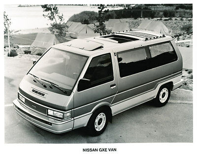 1989 Nissan Van Press Photo Print and Release