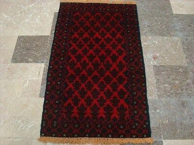 BALAUCHI TRIBAL NOMADIC AFGHAN HAND KNOTTED RUG 4.5x2.7