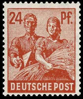 Allied Occupied Germany! Rare Uncut Mnh 1947 Sheet (100 Stamps!) Retail Val $200