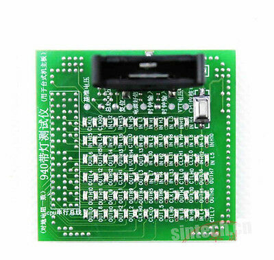 Sintech 940 CPU Socket pc test tester analyzer card for desktop Intel socket