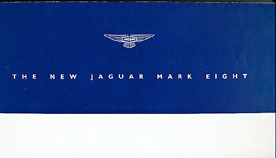 1957 Jaguar Mark 8 VIII Original Sales Brochure