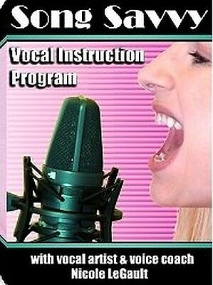 Song Savvy Vocal Instruction Program BLOWOUT PRICE!