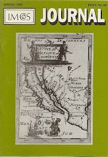 IMCOS Antique Map Collector Journal Iceland Japan Rhine