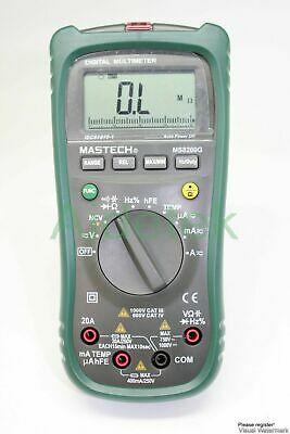 MASTECH 1999 MS8260E digital LCR Meter multimeter non-contact DMM