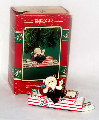 Enesco Ornament 1996 Decked out For Christmas - Casino - #176796
