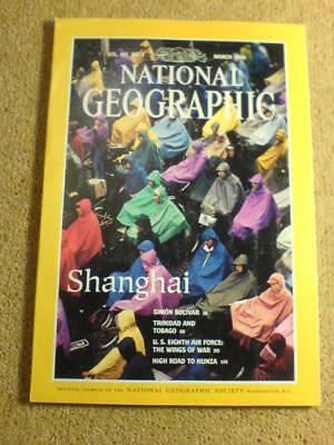 NATIONAL GEOGRAPHIC - SHANGHAI - March 1994