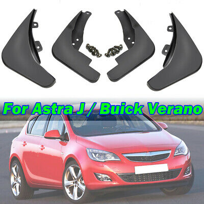 Set Fit For 2010-2015 Vauxhall / Opel Astra J Mud Flaps Splash Guards Mudguards