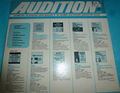Audition: Autumn 1966 / 1966 Columbia Stereo