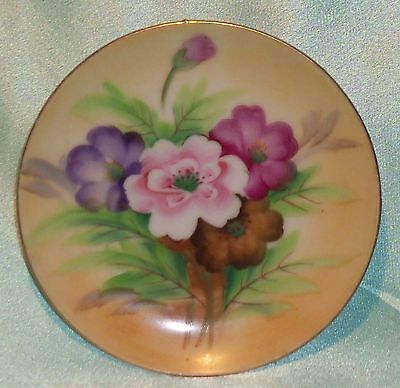 ~ Collectable ~ Small Display Plate ~ Flowers ~