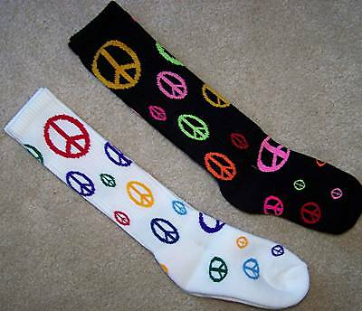 GivePEACEaCHANCE Soccer Volleyball Softball Socks NWT!