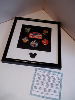 """MinnieThrough the Years"" Framed Pin Set-Limited Edition"