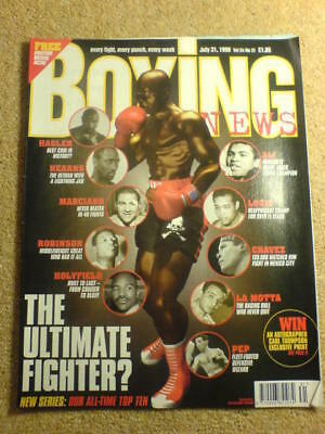 BOXING NEWS - 31 July 1998 - ULTIMATE FIGHTER
