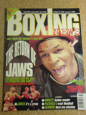 BOXING NEWS - 15 Jan 1999 - TYSON
