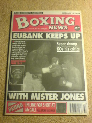 BOXING NEWS - 16 Dec 1994 - EUBANK WHARTON