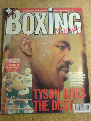 BOXING NEWS - 4 July 1997 - HOLYFIELD TYSON II