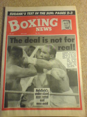BOXING NEWS - 26 June 1992 - HOLYFIELD HOLMES