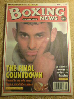 BOXING NEWS - 5 May 1995 - HAMED