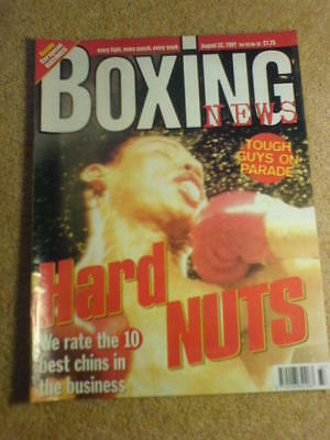 BOXING NEWS - 22 Aug 1997