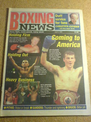 BOXING NEWS - 9 July 1999 - CALZAGHE