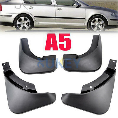 Mud Flaps Splash Guards for SKODA OCTAVIA A5 2004-2012 Model Front Rear Fender