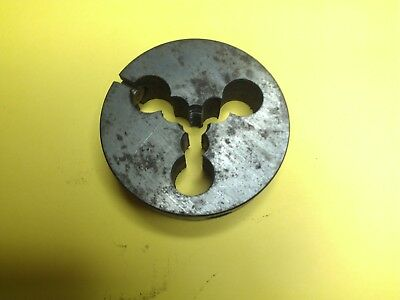 "Whitworth BSW 3/16"" x 24 tpi, RH. OD 1 1/2"" Split die button, SKS"