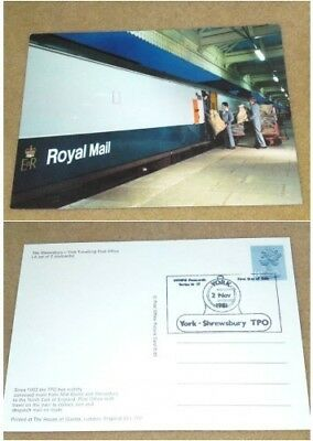 Unused Postcard Fds Mail Train