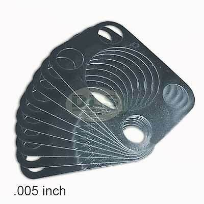 """0.005"""" Top Swivel King Pin x10 Shims Land Rover Series 2A/3 `65 on (530985X10)"""