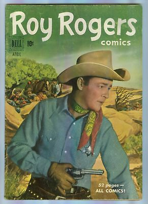 ROY ROGERS # 40 a golden age Dell comic from 1951 photo
