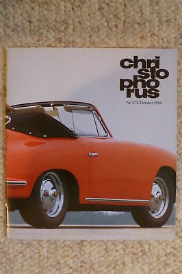 Porsche Christophorus Magazine English #173 October 1984 RARE!! Awesome L@@K
