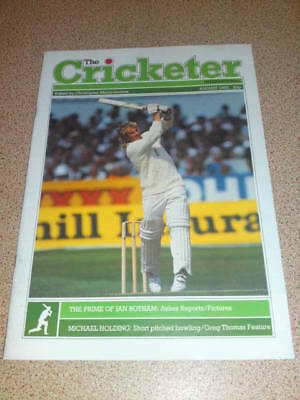 THE CRICKETER - BOTHAM - Aug 1985 Vol 66 # 8