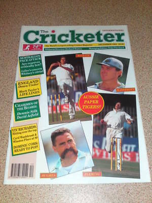 THE CRICKETER - Dec 1994 Vol 75 # 12