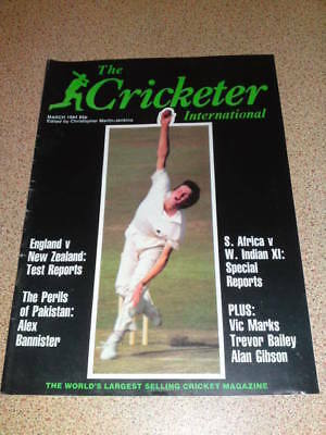 THE CRICKETER - March 1984 Vol 65 # 3