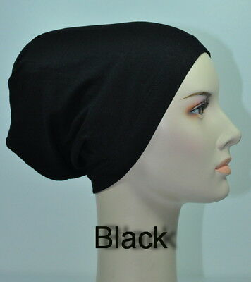 Great Deal 5 for $ 23.8 Cotton Lycra Under Scarf Bonnet Hijab Easy Slipon Cap