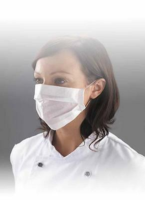 100 x Professional 2ply Paper Face Masks CE Certified