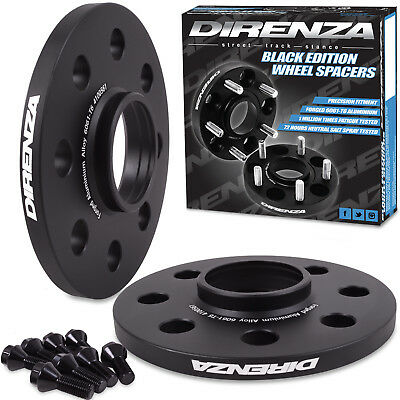 DIRENZA 4x100 10mm HUBCENTRIC WHEEL SPACER PAIR FOR BMW MINI R55 R56 R57 COOPER