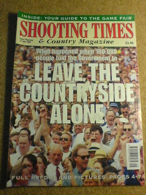 SHOOTING TIMES - LEAVE ALONE - 17 July 1997 # 4969