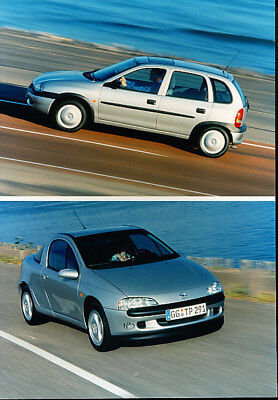 2000 Opel Tigra and Corsa Press Photo Print
