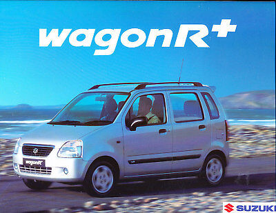 2000 Suzuki Wagon R Press Photo Print and Release